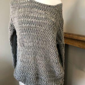Vince open-weave medium sweater